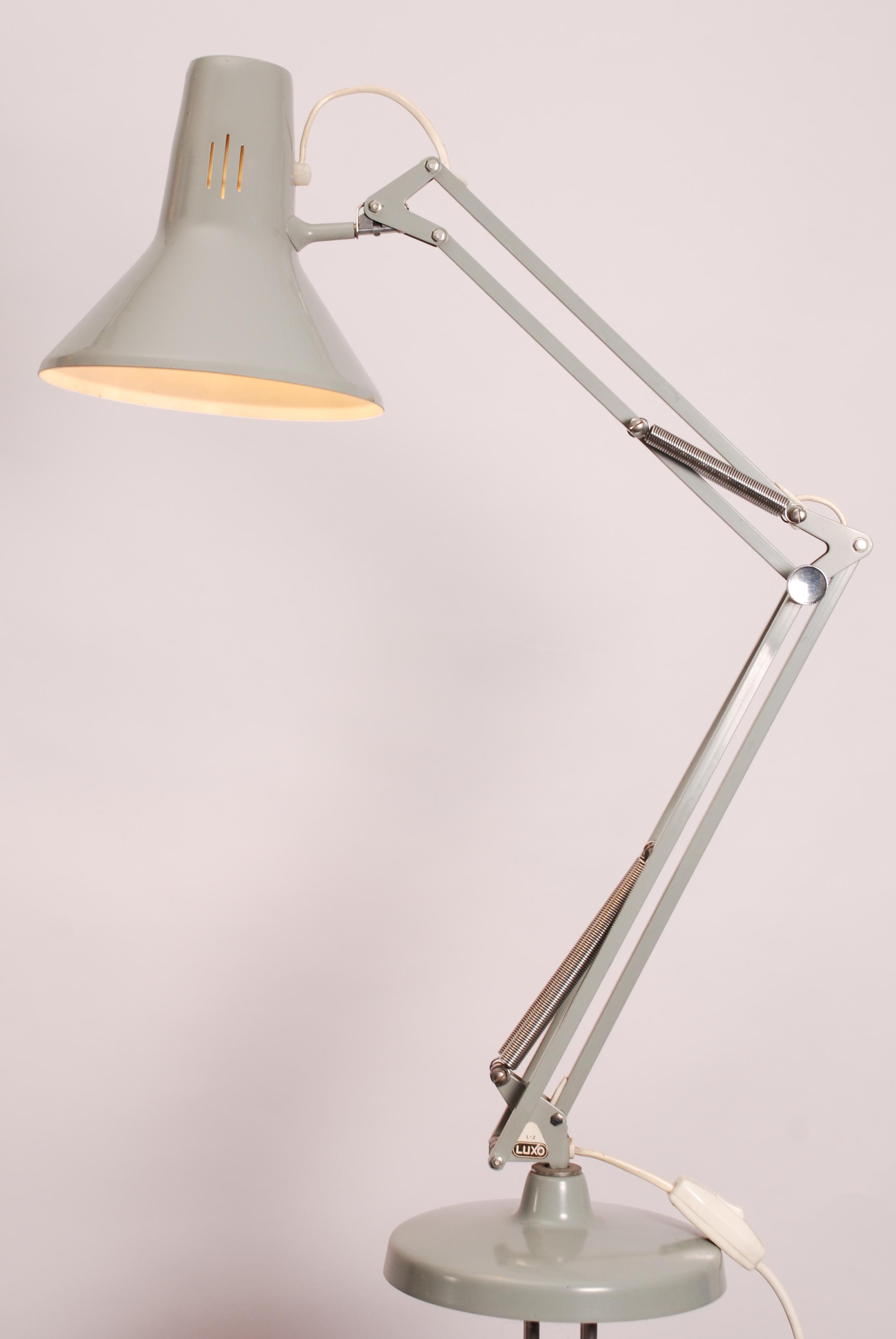 Jacob Jacobsen Voor Luxo Architect Lamp L 2 1970