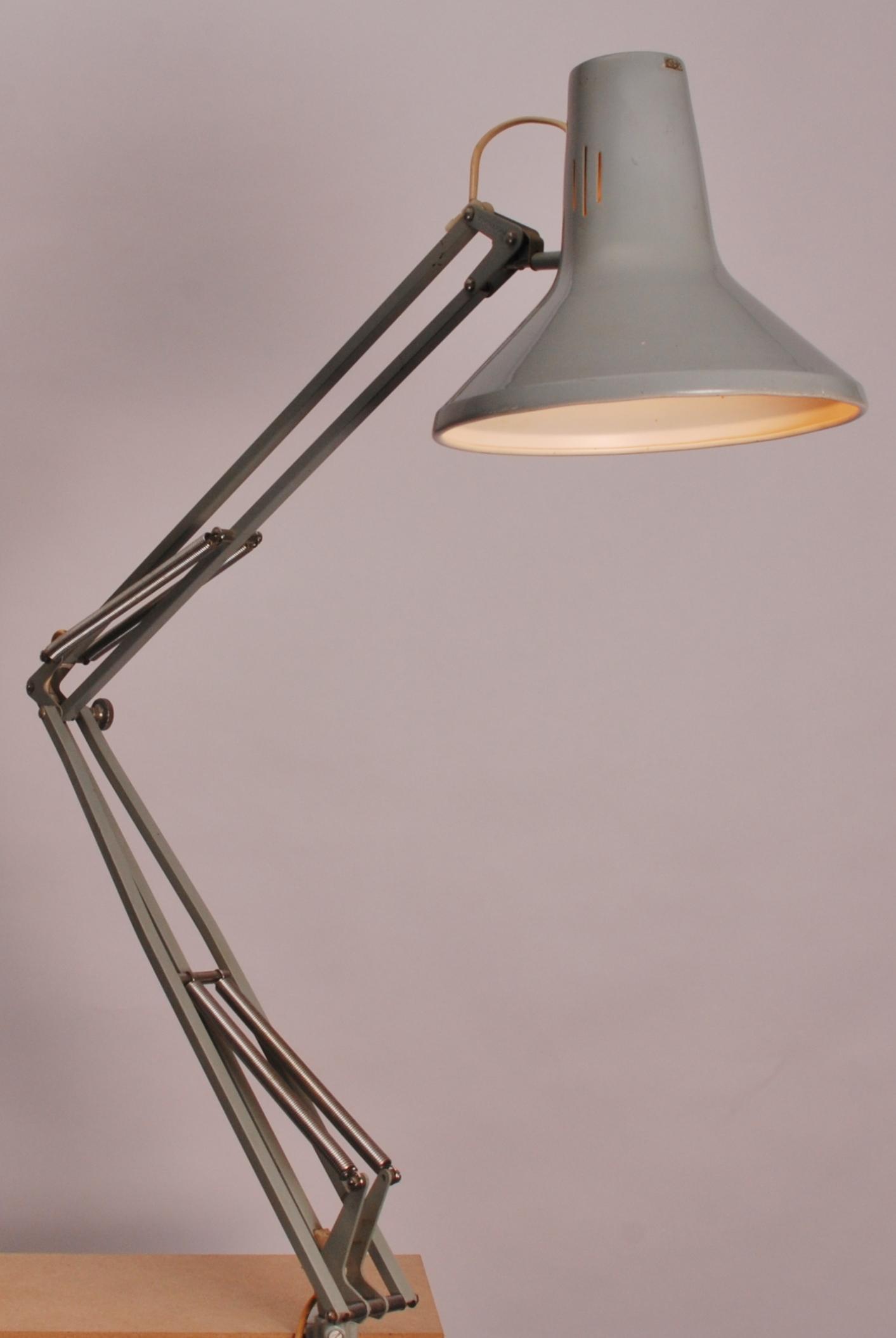 Jacob Jacobsen For Luxo Architect Lamp L 1p Ca 1970