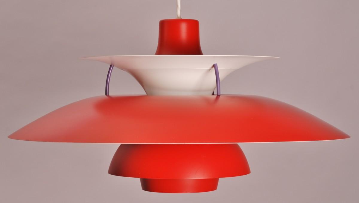 poul henningsen voor louis poulsen ph5 hanglamp vroeg model denemarken willem koolmees. Black Bedroom Furniture Sets. Home Design Ideas