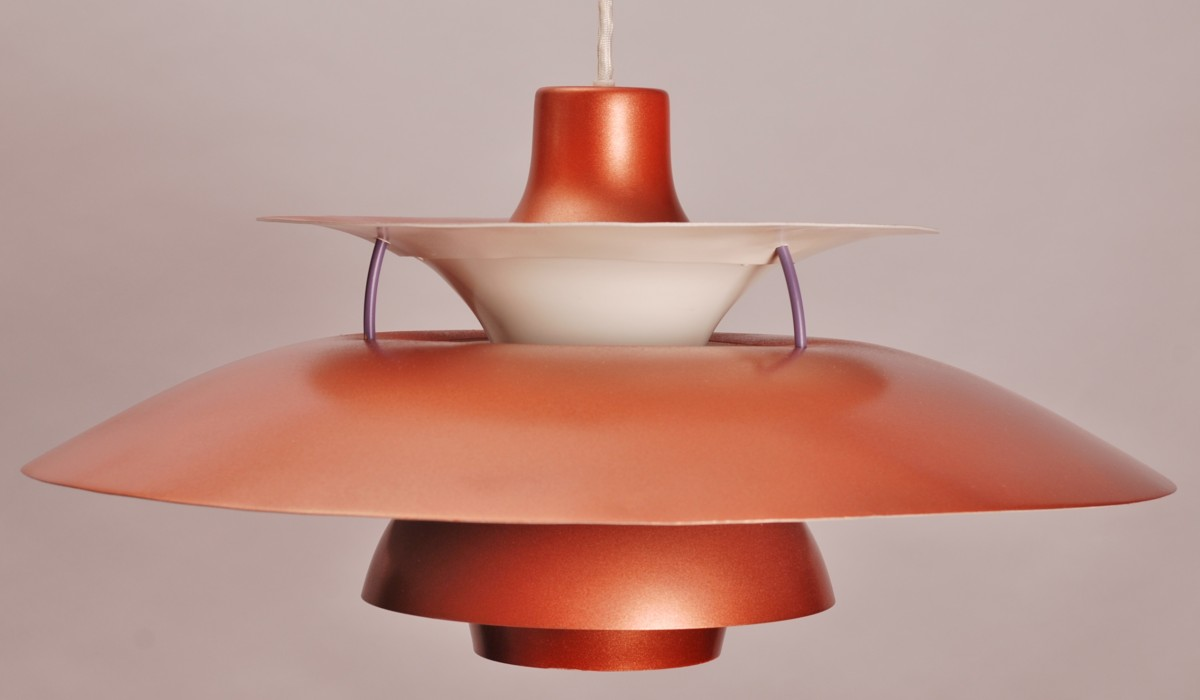 Poul Henningsen For Louis Poulsen Ph5 Unique Copper Color